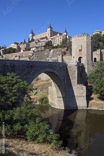 canvas print picture Toledo - La Mancha - Spain