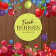 background with berries