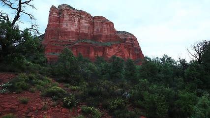 The red rock formations of Sedona, Arizona