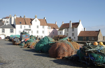 harbour pier at Pittenweem