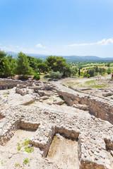 Kreta - Griechenland - Palast von Phaistos