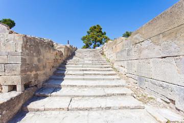 Kreta - Griechenland - Treppe von Festos