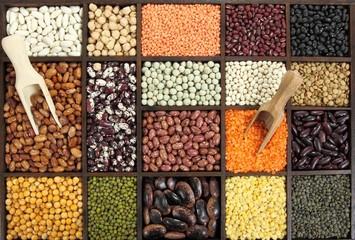 Beans, peas, lentils