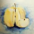 Quadro Apfel,  Aquarell