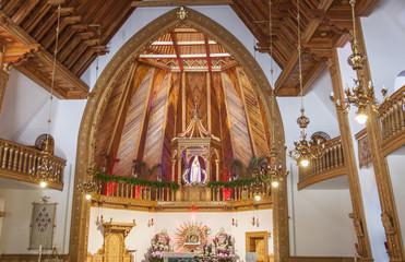 Interior of Krzeptowki Sanctuary - Poland.