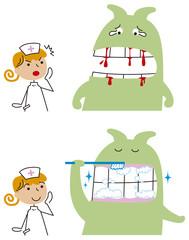 歯槽膿漏で悩む