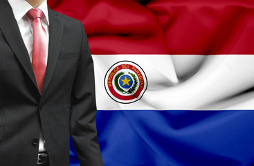Businessman from Paraguay conceptual image
