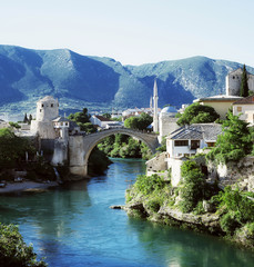 The Old Bridge, Mostar, Bosnia and Herzegovina