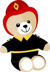 Ourson pompier