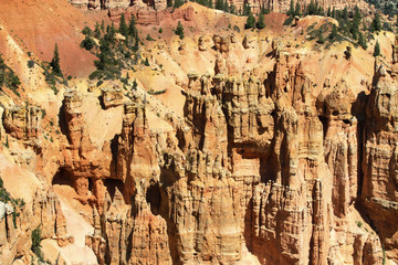 hoodoos de Inspiration point, Bryce canyon