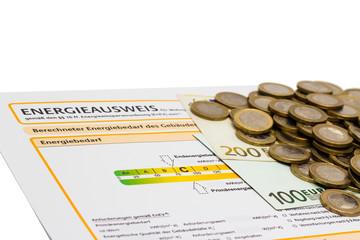 Energieausweis und Geld