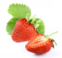 strawberry with slice