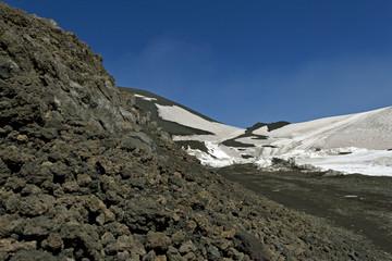 Etna mountain.