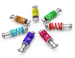 colorful dampers