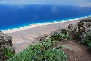 Ausblick vom Pico de la Zarza, Fuerteventura