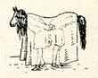 Horse - latvian ethnographic mask