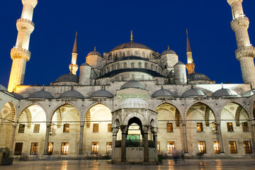 Sultanahmet mosque night