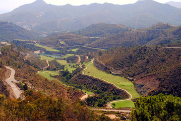 Andalusian golf course
