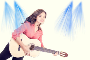 woman guitar