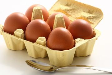 Uova nella confezione