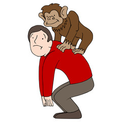 Monkey on Back