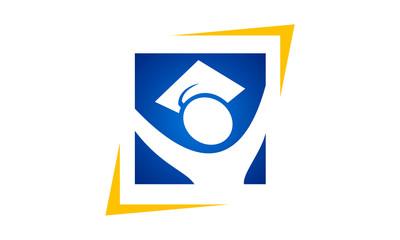 graduation celebration student logo