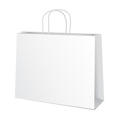 Carrier Paper Bag White