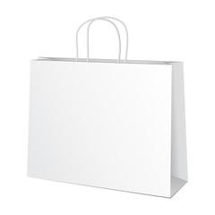 Carrier Paper Bag White