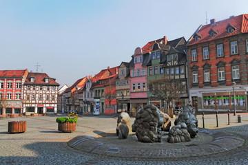 Helmstedt Stadtzentrum