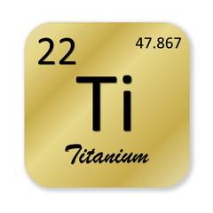 Titanium element