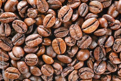 coffee beans macro - 65566883