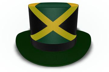 Jamaica Flag Top Hat