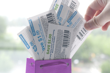 Tacking coupon