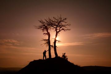 doğa sevgisi gündoğumunda
