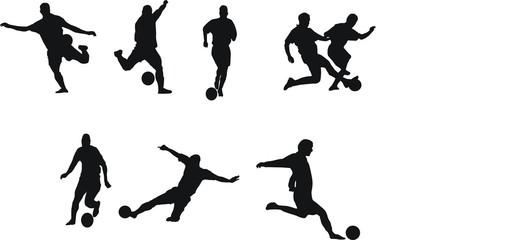 joueurs de foot