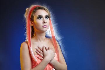 Wasserperücke - Water wigs
