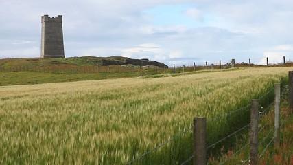 Kitcheners Memorial, Orkney Islands, northern Scotland