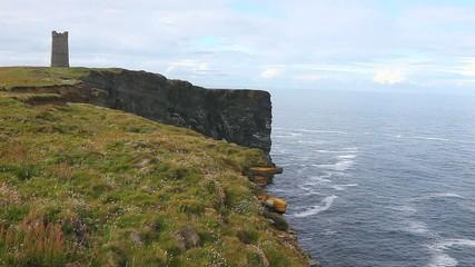 Kitcheners Memorial, Marwick Head in the Orkney Islands