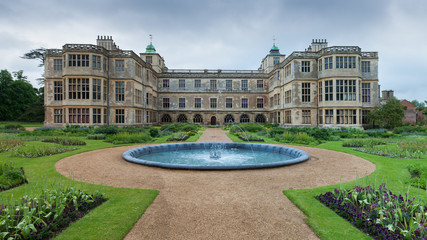 English manor from 17th century