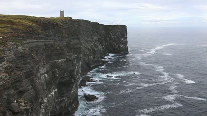 Marwick Head in the Orkney Islands, Scotland.