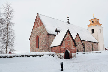 Church of Gammelstad, Sweden