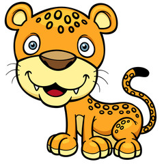 Vector illustration of Jaguar