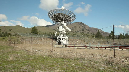 Dominion Radio Astrophysical Observatory, Camera Move