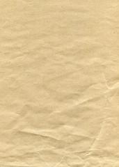 brown paper crumpled