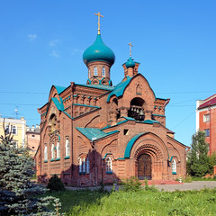 Orthodox Old Believers Church in Kazan, Russia