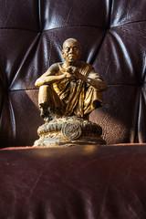 Still Life Thai Monk Statue, Luang Pho Khun