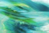 Background Wasserwellen türkis