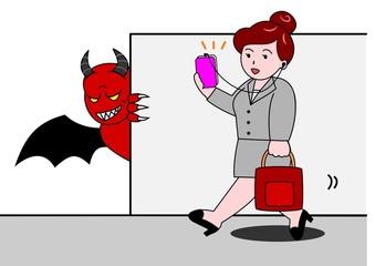 スマホの悪魔