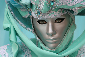 Beautiful clasical mask in Venice