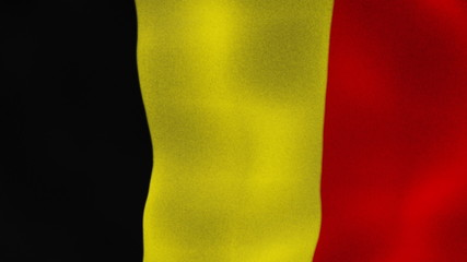 Belgium Flag Textile, Background